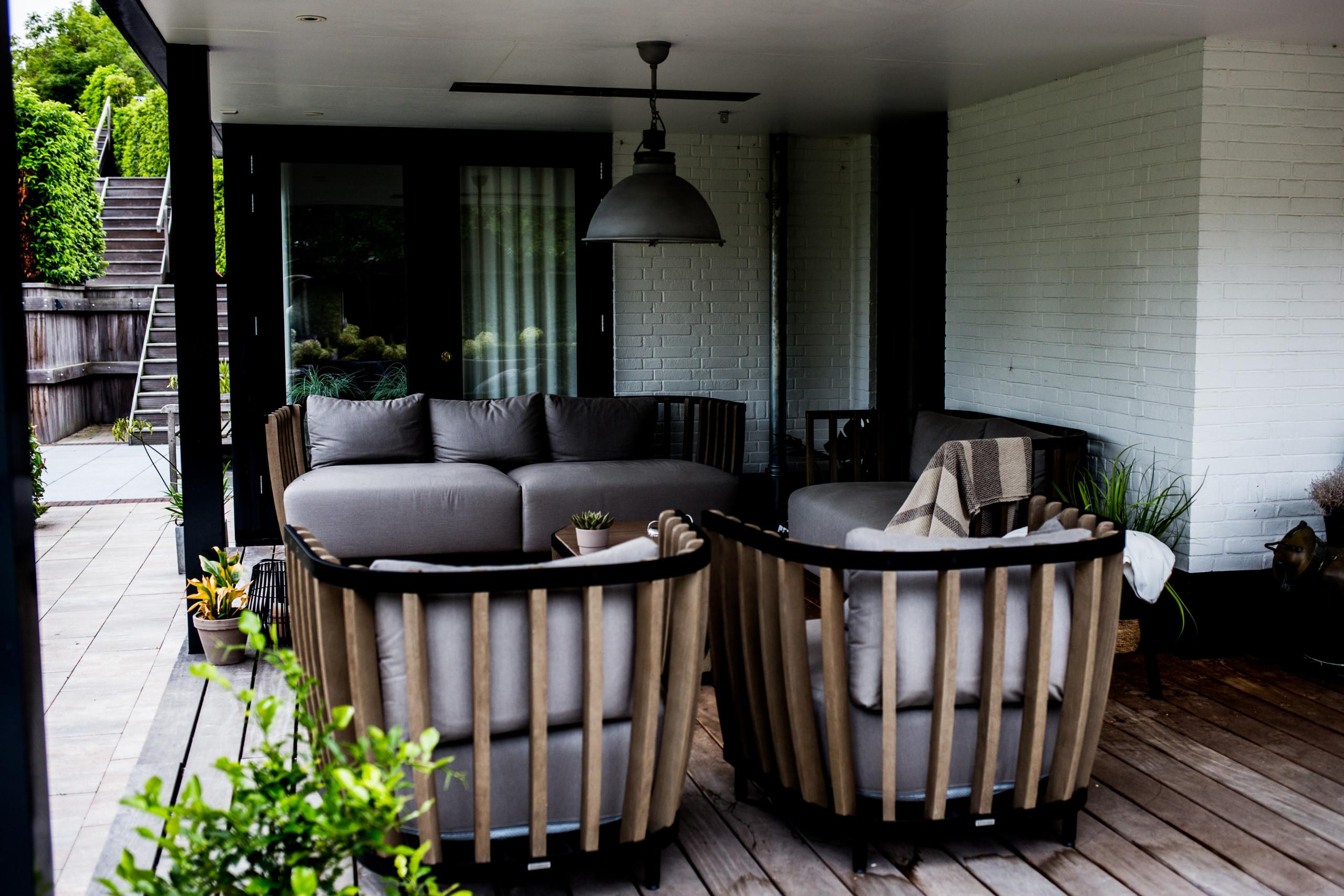 Landelijk villa nieuwe tuin